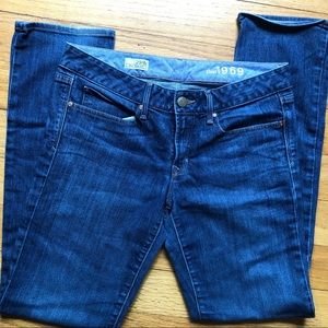 Gap Real Straight Jeans 29/8R